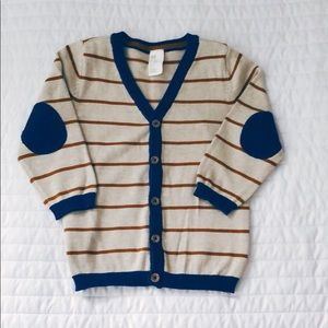 Toddler Boy's Elbow Patch Sweater
